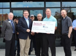 Tyler, TX Abuelo's raised $5,000 for CASA for Kids East Texas.